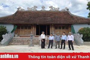 Huyện Thiệu Hóa vận động con em xa quê đóng góp hơn 7 tỷ đồng xây dựng nông thôn mới