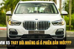 BMW X5 thay đổi những gì ở phiên bản mới?