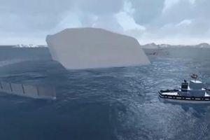 Chi 150 triệu USD kéo núi băng từ Nam Cực về vùng Vịnh lấy nước