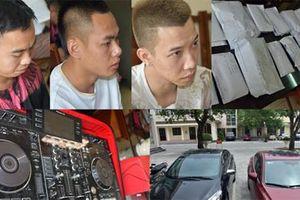 Từ Hà Nội vào Sầm Sơn tổ chức sinh nhật bằng... ma túy