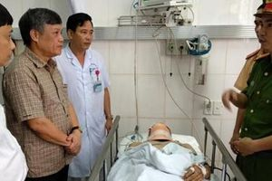 Lãnh đạo Hải Phòng thăm hỏi thượng úy CSGT bị xe máy tông trọng thương