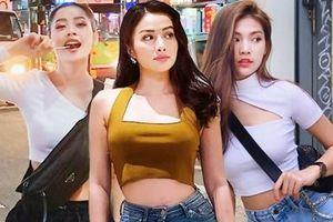 Crop top, quần ống lửng 'thống trị' street style sao Việt tuần qua