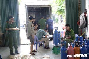 Bắt quả tang vụ tàng trữ 5.000 quả bóng cười tại Đà Nẵng