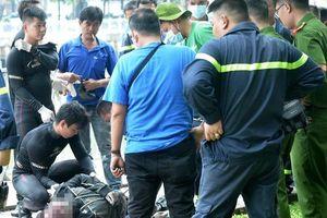 Hiện trường phát hiện nghi can sát hại nữ sinh 19 tuổi dưới kênh Nhiêu Lộc