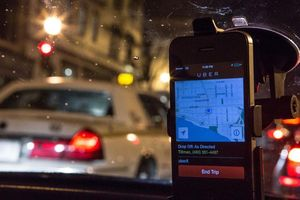 Tài xế Uber phát hoảng vì vô tình chở cướp