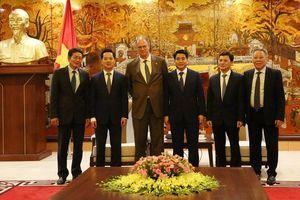 Đại sứ Đức ấn tượng trước những chính sách phát triển của Hà Nội