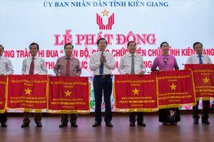 Kiên Giang phát động phong trào thi đua thực hiện văn hóa công sở