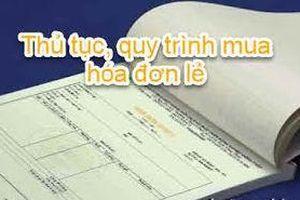 Không cấp hóa đơn lẻ đối với hợp đồng nhân công thuê ngoài