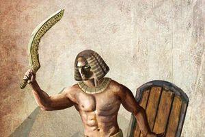 Choáng váng sức mạnh thanh kiếm trứ danh Ai Cập cổ đại