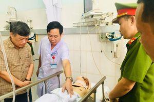 Điều tra vụ 'quái xế' tông CSGT đang làm nhiệm vụ bị thương