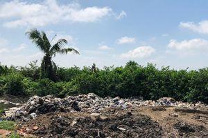 Dùng rác thải công nghiệp san lấp mặt bằng