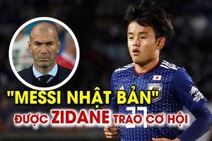 'Messi Nhật Bản' được HLV Zidane đôn lên đội 1 Real Madrid