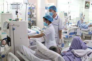 Bệnh viện đầu tiên cả nước nhận chứng nhận ISO 9001:2015 thận nhân tạo