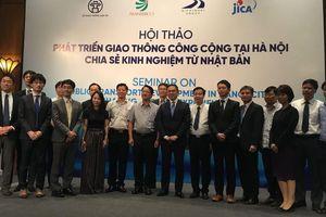 Nhật Bản chia sẻ kinh nghiệm phát triển giao thông công cộng với Hà Nội