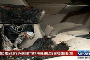 Suýt chết vì iPhone đặt trong ô tô phát nổ do thay pin không chính hãng