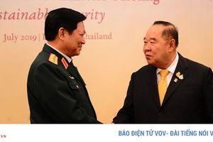 Khai mạc Hội nghị Bộ trưởng Quốc phòng ASEAN tại Thái Lan