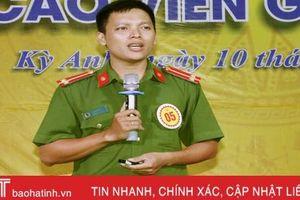 33 thí sinh tranh tài hội thi báo cáo viên giỏi huyện Kỳ Anh, Vũ Quang