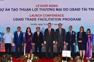 Chính thức khởi động dự án gần 500 tỷ đồng tạo thuận lợi thương mại