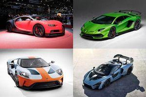 Top 10 xe thể thao nhanh nhất thế giới: Bugatti Chiron Sport số một