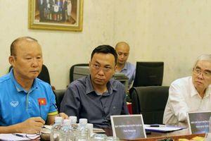 Chưa gia hạn hợp đồng, VFF đã giao mục tiêu khó cho HLV Park Hang-seo