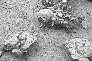 Ẩn số sau vụ tìm thấy đồ giả cổ ở núi Tàu