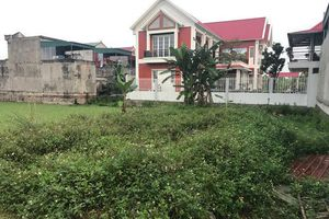 Thông tin thêm vụ Chủ tịch xã Ninh Nhất bị tố nhận nhiều lô đất tái định cư trái quy định