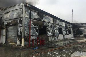 Hải Dương: Cháy lớn tại Công ty Dược phẩm Syntech thiệt hại hơn 60 tỷ