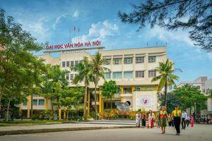 Điểm chuẩn ĐH Văn hóa Hà Nội xét theo học bạ cao nhất 25,5 điểm
