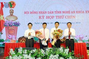 Hai Phó chủ tịch UBND tỉnh Nghệ An nghỉ hưu theo chế độ