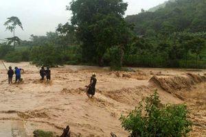 Mưa lớn bao trùm Bắc Bộ, nguy cơ cao xảy ra lũ quét, sạt lở đất ở Điện Biên, Lai Châu, Hà Giang