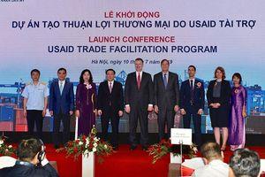 Mỹ tài trợ 21,7 triệu USD để Việt Nam cải cách các thủ tục hải quan