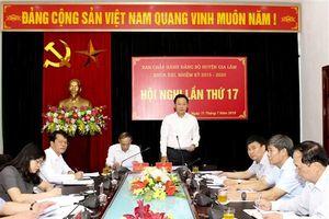 Kinh tế huyện Gia Lâm tăng trưởng 10,37%