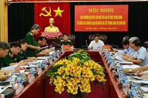 Triển khai nghiêm túc công tác chuẩn bị đại hội đảng các cấp trong Đảng bộ Quân đội