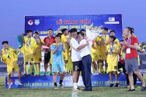 Thanh Hóa đăng quang giải U17 quốc gia 2019
