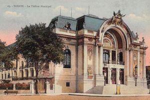 Ngắm diện mạo nhà hát Lớn Sài Gòn một thế kỷ trước