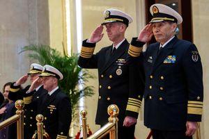Chỉ huy hải quân Mỹ, Trung Quốc bàn cách giảm nguy cơ ở Biển Đông