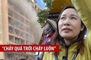 Nhân chứng kể lại vụ cháy Ký túc xá Cao đẳng Cao Thắng ở TP.HCM
