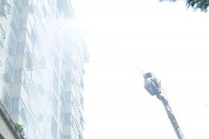 Cháy tại chung cư Nam Trung Yên: Dụng cụ chữa cháy tại chỗ không hoạt động