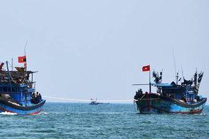Tàu cá Quảng Ngãi cứu sống 32 ngư dân Trung Quốc