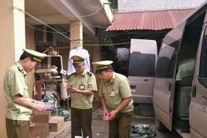 Chặn đứng lô mỹ phẩm nhập lậu ngang nhiên tuồn vào Việt Nam tiêu thụ