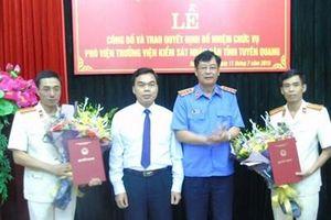 Trao quyết định bổ nhiệm Phó Viện trưởng VKSND tỉnh Tuyên Quang
