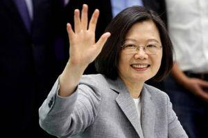 Trước khi tới Mỹ, nhà lãnh đạo Đài Loan cảnh báo mối đe dọa 'từ bên ngoài'