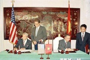 Nhìn lại 24 năm bình thường hóa quan hệ ngoại giao Việt-Mỹ