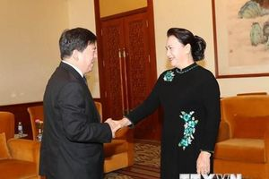 Chủ tịch Quốc hội tiếp lãnh đạo các tập đoàn Trung Quốc