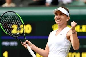 Hạ Elina Svitolina, Simona Halep đi vào lịch sử tại Wimbledon