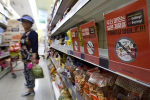 Trung Quốc 'ngư ông đắc lợi' khi Nhật Bản đối đầu thương mại với Hàn Quốc