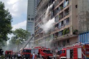 Cháy lớn tại Ký túc xá Trường Cao đẳng kỹ thuật Cao Thắng