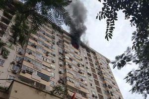 Hà Nội: Cháy chung cư Nam Trung Yên, cư dân 'tán loạn' vì không có hệ thống báo cháy