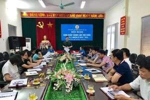 Hội nghị BCH LĐLĐ huyện Gia Lâm khóa X, kỳ họp lần thứ 9