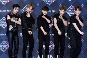 30 thực tập sinh 'Produce X 101' đổ bộ thảm đỏ 'M Countdown', Choi Byung Chan vắng mặt